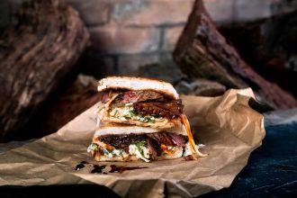 The Texas Timebomb Sandwich Slo Moe's