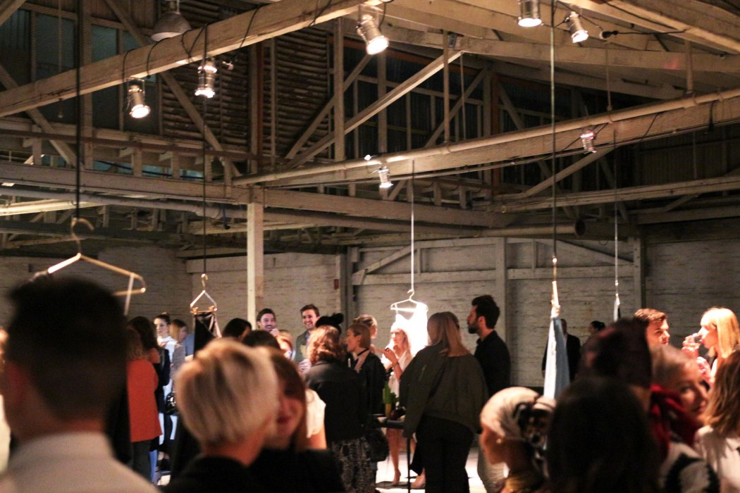 Inside the industrial setting for Stone Label launch night