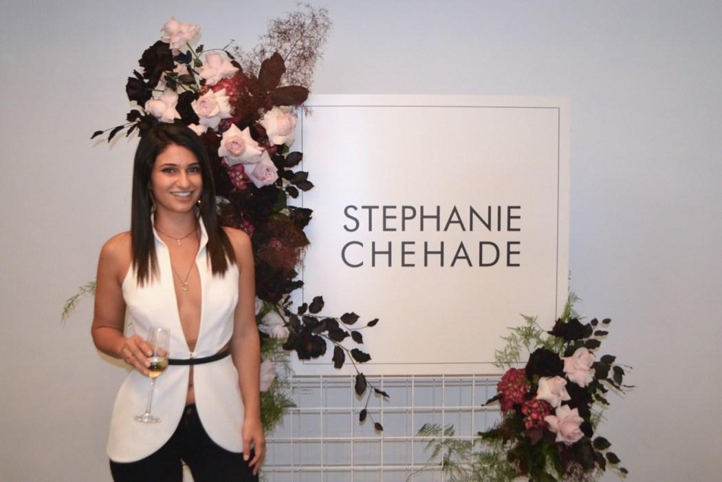 Designer Stephanie Chehade