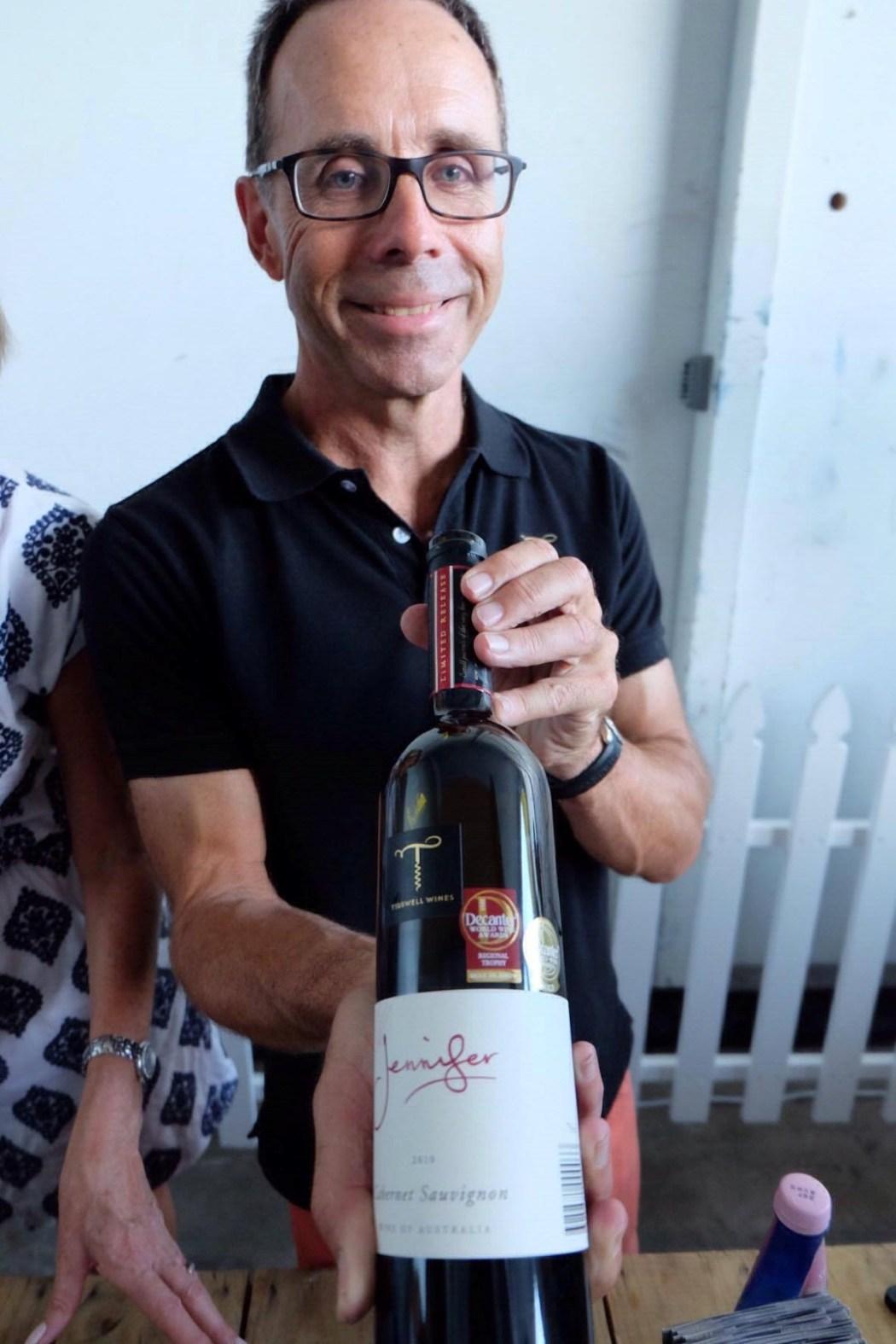 'Jennifer' Cabernet Sauvignon Tidswell Wines