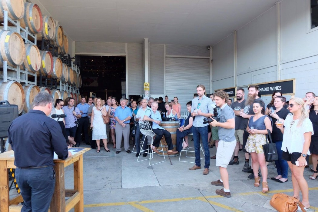 The launch of Eastside Wine and Ale Trail