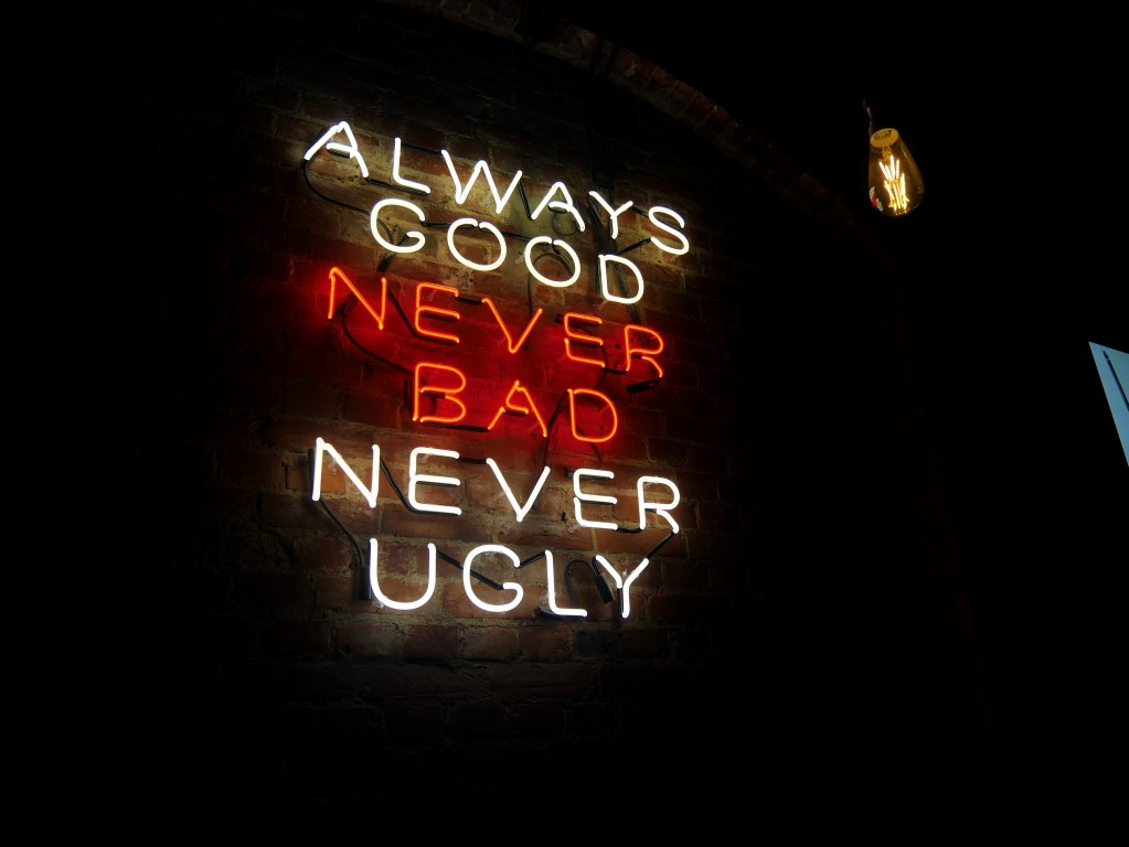 Neon signs at Spaghetti Western