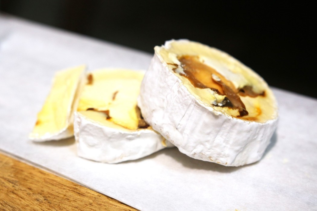 Woodside's divine truffle cheese