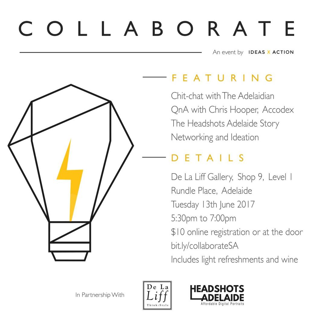 Collaborate networking event details