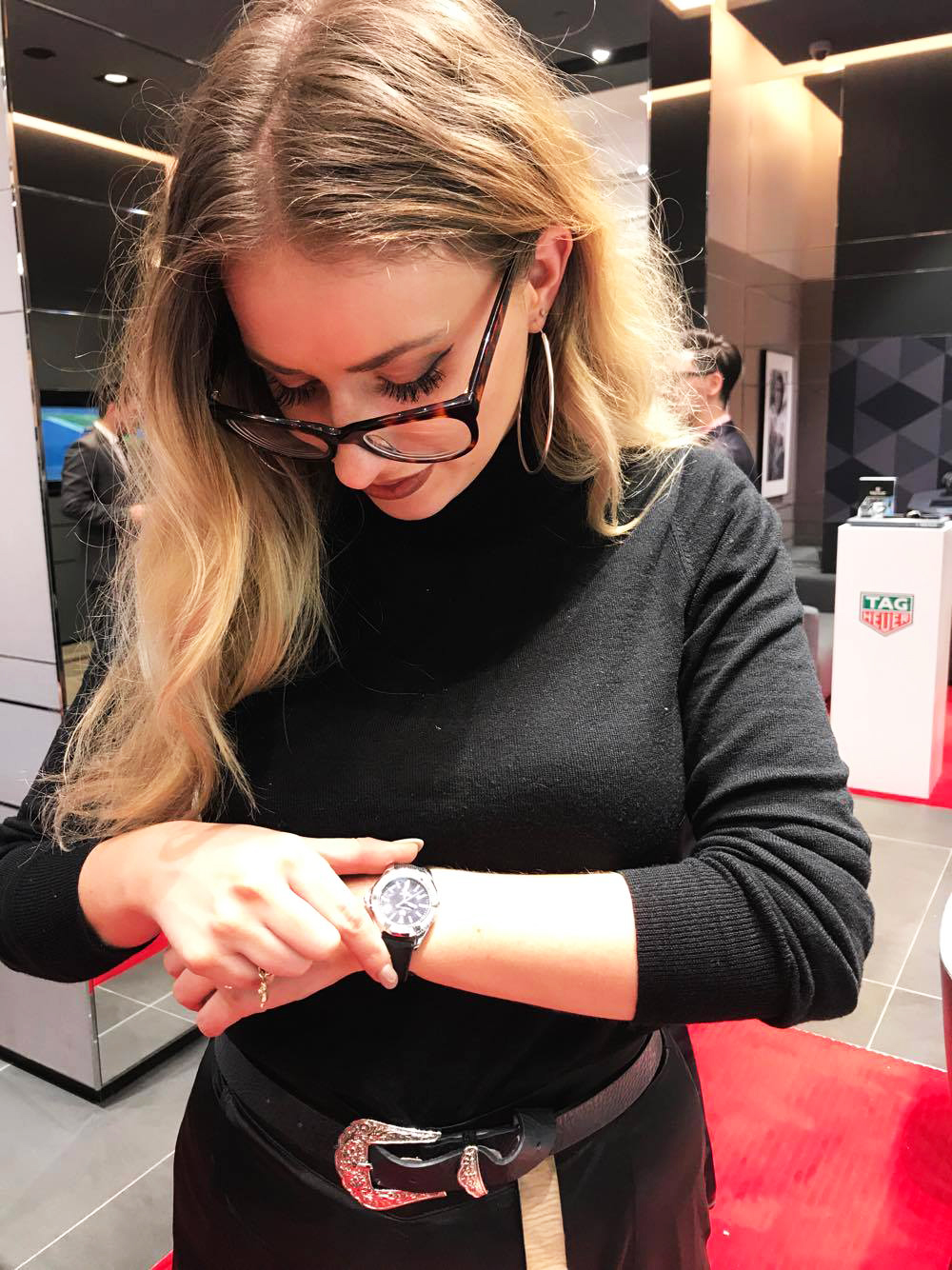 Playing around with the Tag Heuer 'Ladies Collection'