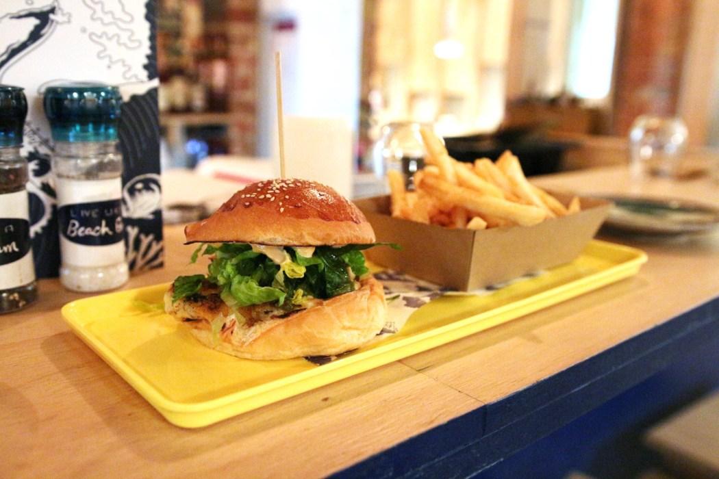 SunfriderPrawn Burger