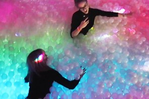 Vlog: We try out London's famous ball pit bar, Ballie Ballerson