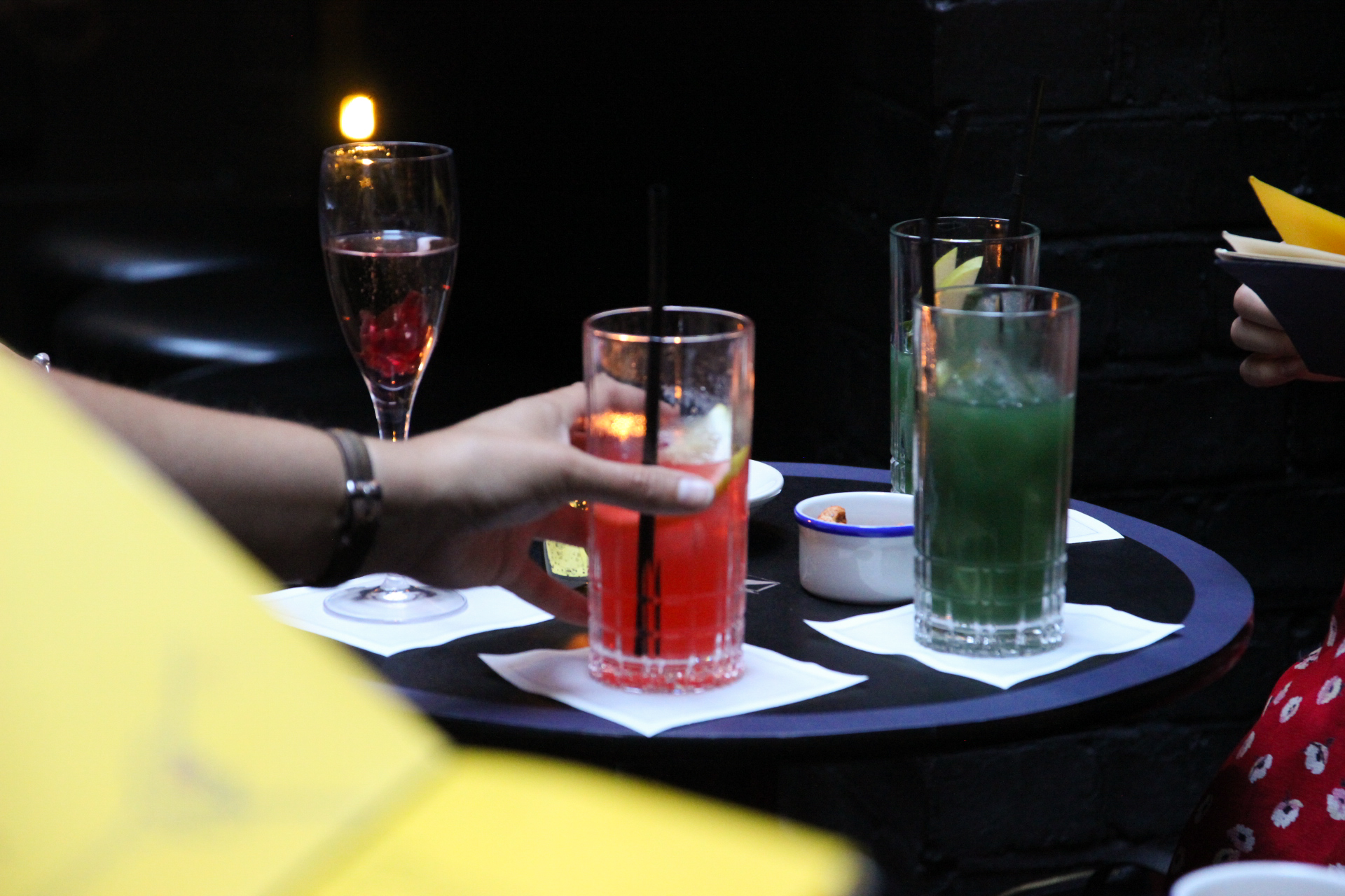 cocktails at tramp london