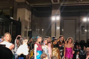 Glitz, glamour and glitter: Ashley Isham London Fashion Week SS19