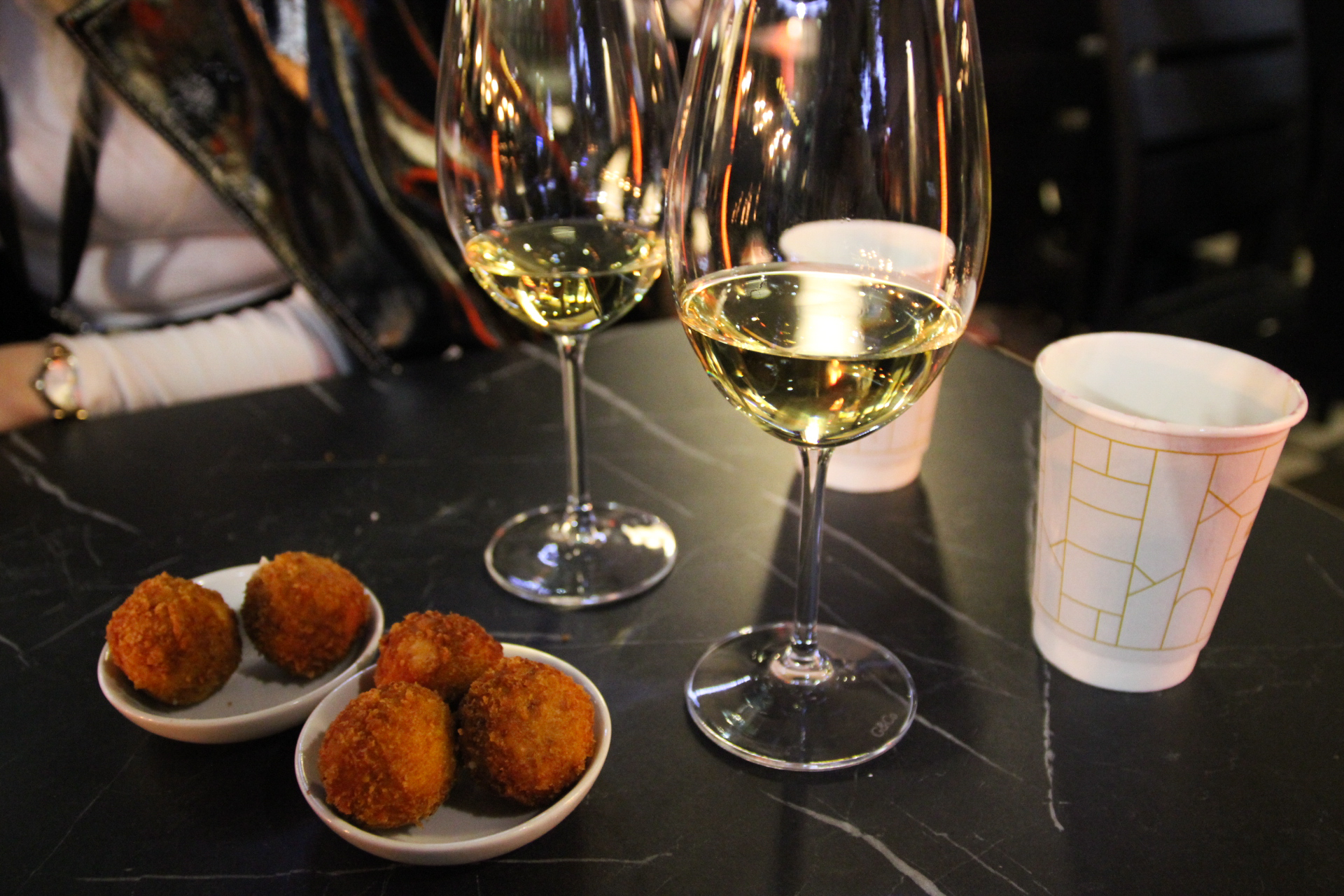 Croquettes and wine Jose Pizarro