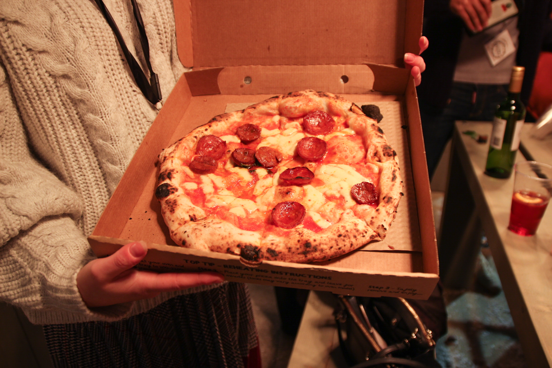 pizza from Franco Manca