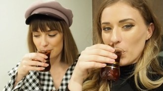mulled gin punch vlog with the adelaidian
