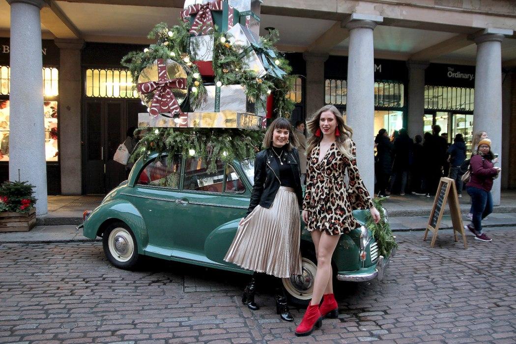Photo Diary: Our Sister's Wardrobe Christmas Threads Melissa Zahorujko and Kristen Byass