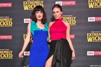 Melissa Zahorujko and Kristen Byass at the European Premiere of Extremely Wicked Shockingly Evil and Vile with Zac Efron
