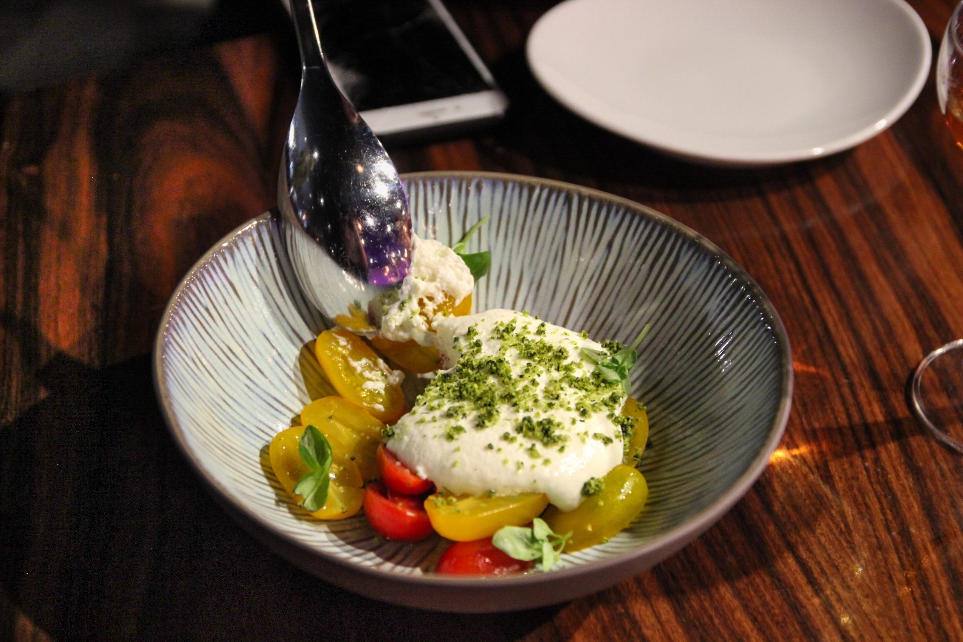Datterini Tomatoes and Burrata