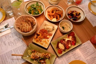 Levantine cuisine at Ceru Restaurants London.
