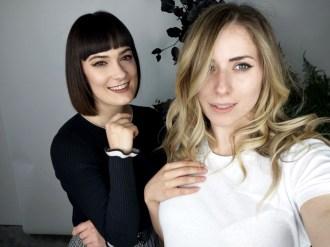 Selfie Kristen Byass and Melissa Zahorujko at the launch of Redken Naturals, Radio Hair Salon Kings Cross.