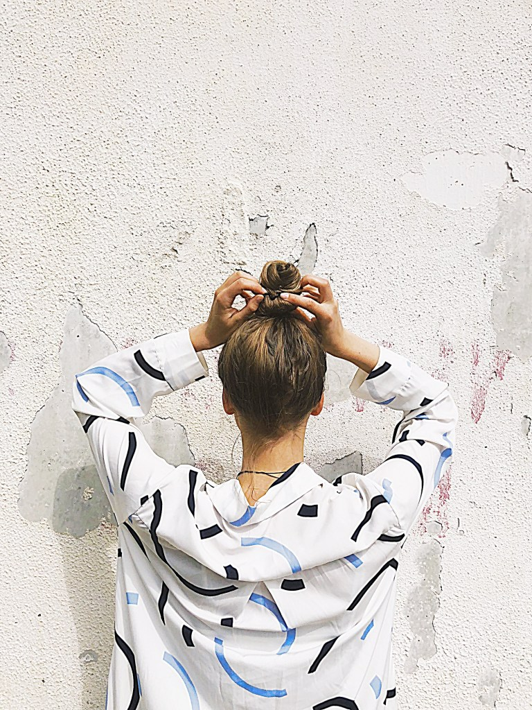 tight-top-knot-hairstyle