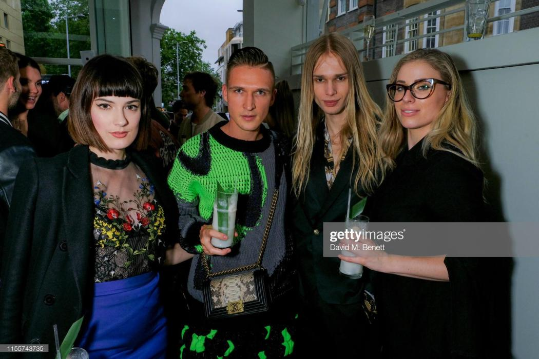 Melissa Zahorujko, Kristen Byass, chris kowalski, mateusz maga at the e & o chelsea launch