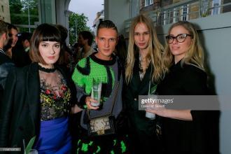 Melissa Zahorujko, Kristen Byass, chris kowalski, mateusz maga at the e & o chelsea launch