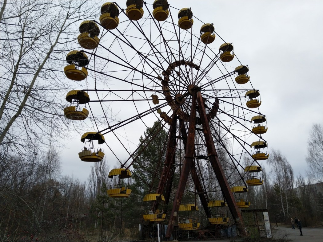 Visiting Chernobyl in winter