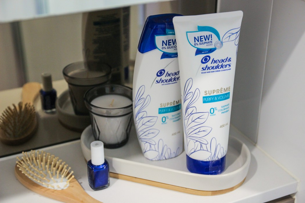 head & shoulders 0% purify & volume shampoo and conditioner