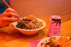 Japanese salads with a twist at Fishbowl Bondi