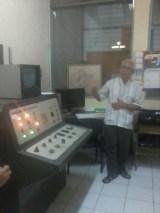 Gamma chamber untuk sampel tanaman
