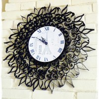 A Beautiful DIY Clock {You will not believe what it is made from!}