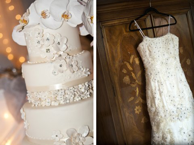 Fashion Inspired Wedding Cakes (4/6)