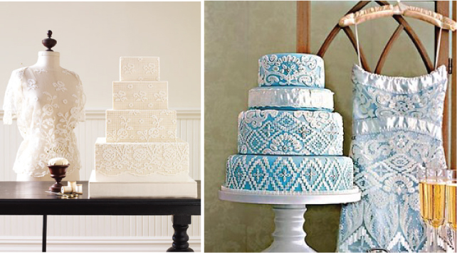 Fashion Inspired Wedding Cakes (6/6)