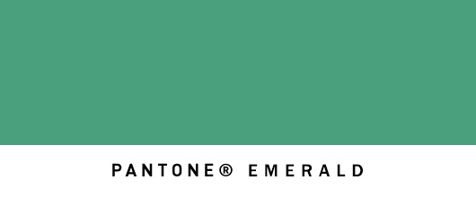 Emerald Revealed as Pantone's Colour Of The Year 2013 (1/3)