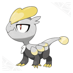 Jangmo-o. Image from Pokemon Sun and Pokemon Moon website.