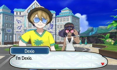 Dexio and Sina. Image from Pokemon Sun and Pokemon Moon website.