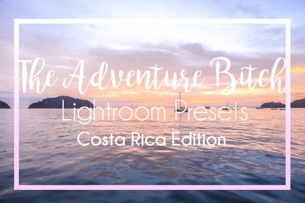 Costa Rica Lightroom Presets
