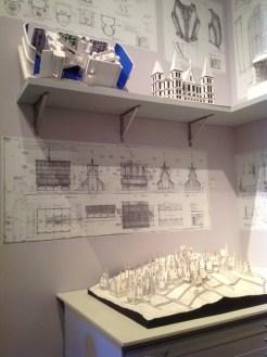 Harry Potter Studio Tour London models drawings image