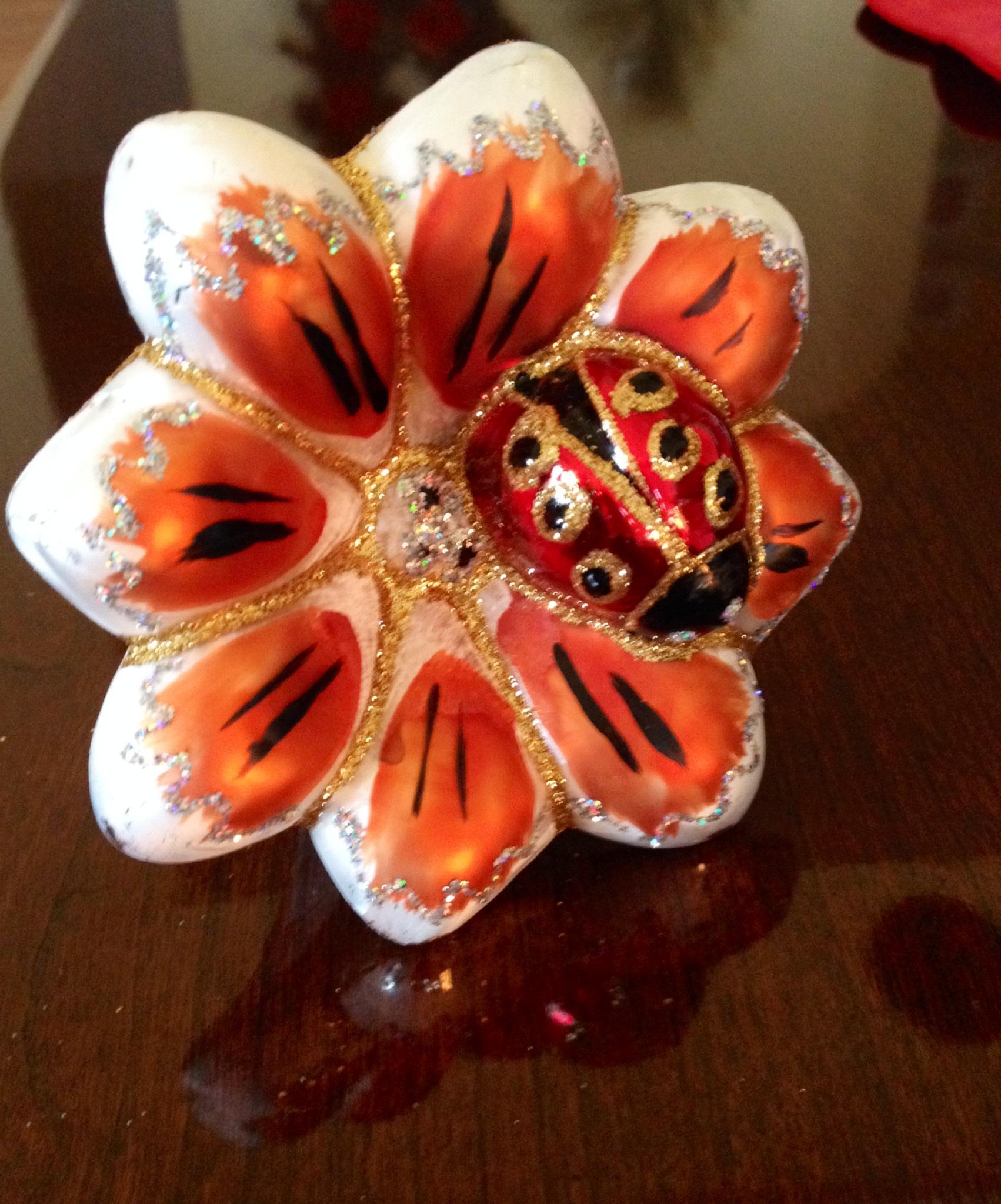 Ladybug ornaments - Lucky Ladybug Christmas Ornament An Ornamental Christmas Tradition The Adventure Is Afoot