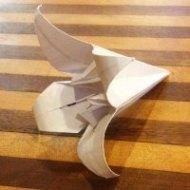 bbc-sherlock-s3-origami-folded-lily image