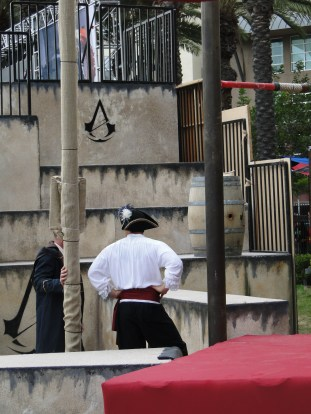 SDCC Comic-Con 2014 Assassin's Creed obstacle course