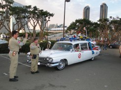 SDCC Comic-Con 2014 Ghostbusters group cosplay