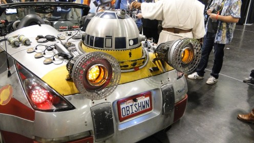 Star Wars Celebration Anaheim 2015 hyperdrive engine car R2D2
