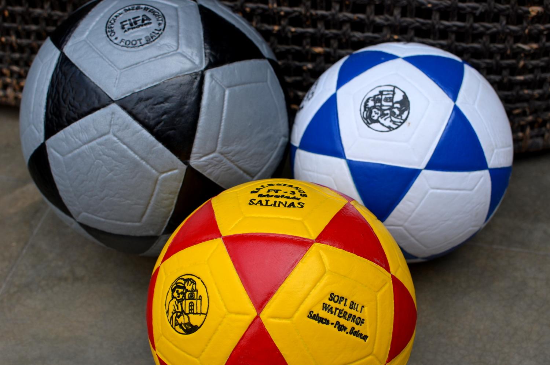 sofa ball stopper beech wood table penny karma gives soccer balls theadventuresofdr