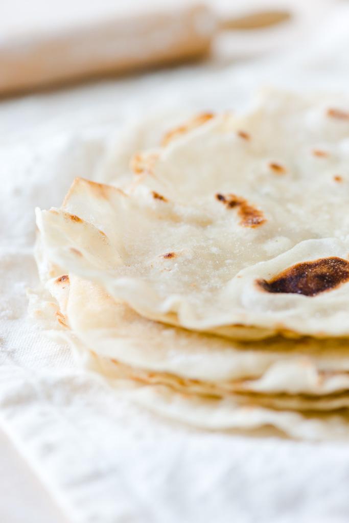 The Adventures of Bob & Shan - Flour Tortillas