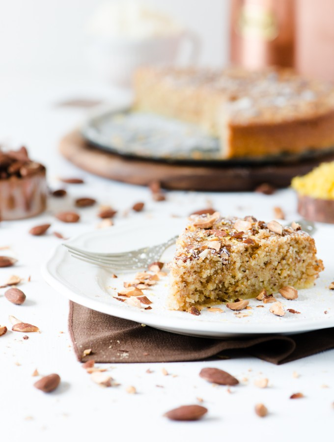 Flourless Lemon and Ricotta Almond Cake