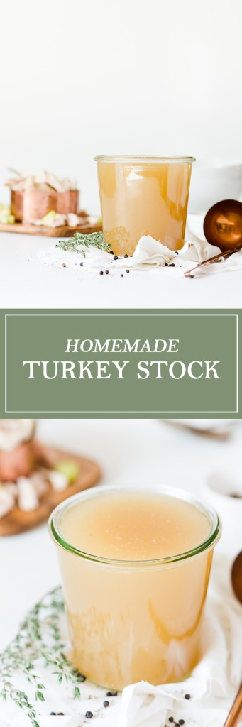 Homemade Turkey Stock
