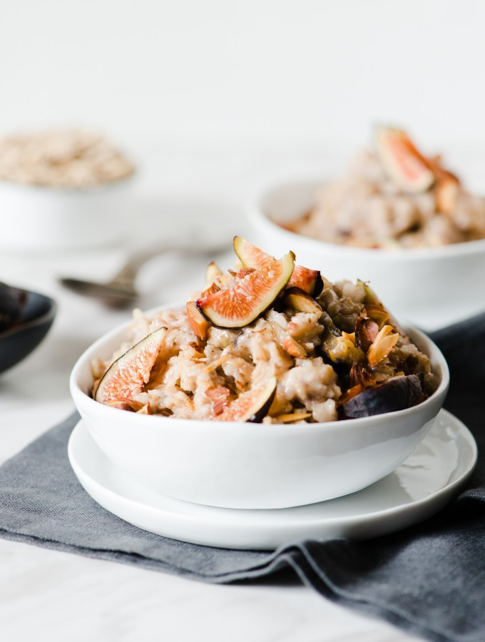 Fig & Almond Oatmeal
