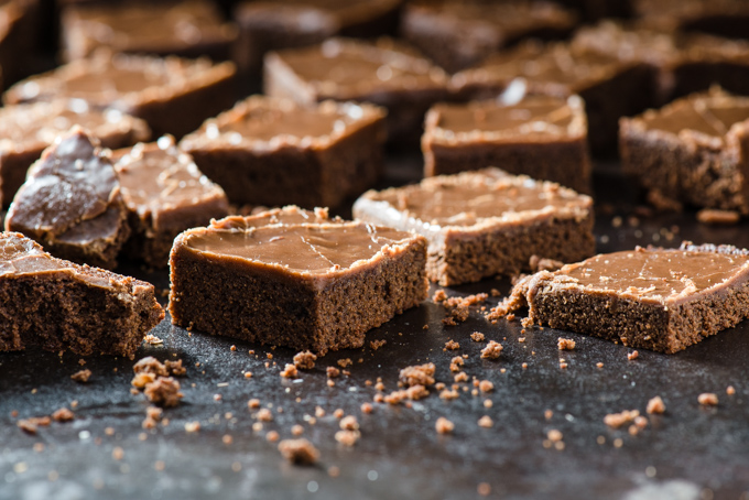Hennessy Espresso Brownies - Coffee, liquor, and brownies, all in one. Need we say more?