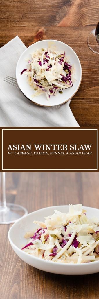 Asian Winter Slaw - Crispy, crunchy, and refreshing!