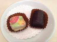 Annelli Viik's white chocolate truffle and the Romeo and Juliet went down a treat