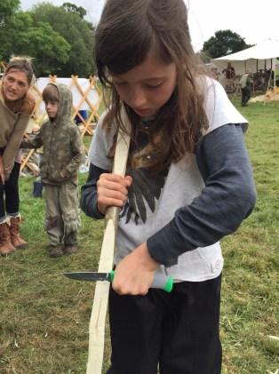 Making a hazel bow
